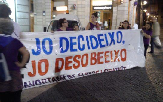 JEV rebutja la nova reforma de la llei de l'avortament del PP