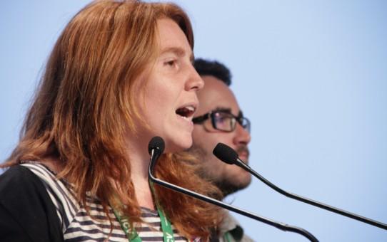 Anna Rovira, candidata a les eleccions del 20D per la llista d'En Comú Podem