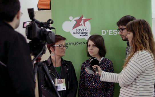 Les joventuts ecosocialistes celebren el retorn del referèndum
