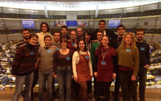 Joves d'Esquerra Verda participa en la segona edició de l'EGAT per repensar Europa