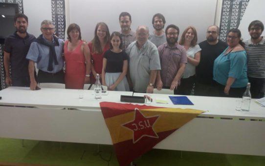 Homenatge al militant d'honor i membre de la JSUC Enric Pubill