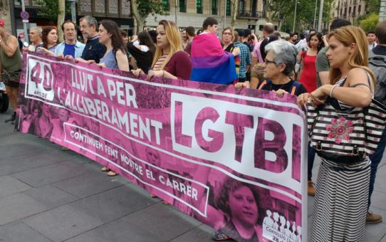 Participem dels actes del 40è aniversari de la lluita LGTBI