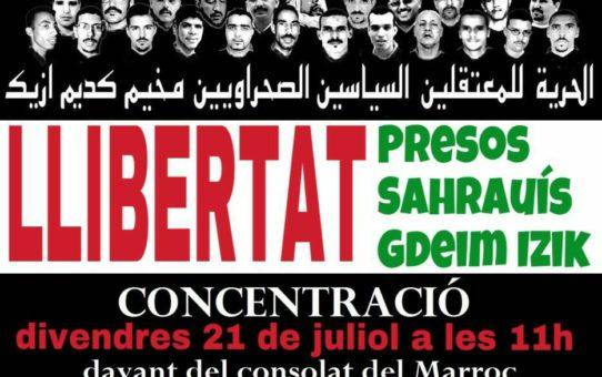 Les condemnes al grup de Gdeim Izik són un atac a tot el poble sahrauí
