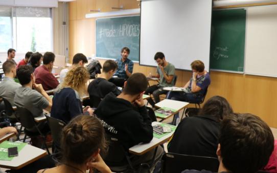 Xerrada-Debat: qui ven armes pot exigir la pau?