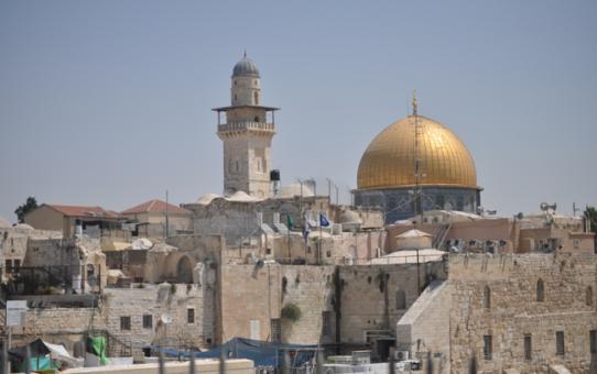 Comunicat contra el reconeixement de Jerusalem com a capital