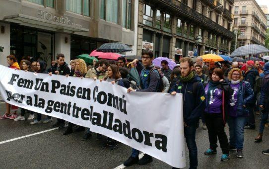 Mobilització 1 de maig: Igualtat de gènere i pensions dignes