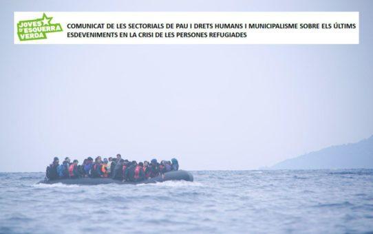 Comunicat de JEV davant la situació de les persones refugiades