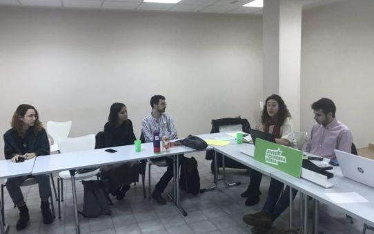 Consell Nacional de Joves d'Esquerra Verda a Barcelona