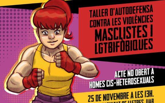 25N: Dia Internacional per a l'eliminació de les violències masclistes i LGTBIfòbiques