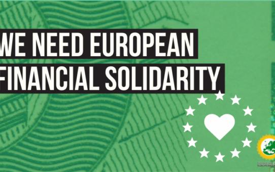 Les joves verdes europees reclamem els coronabons