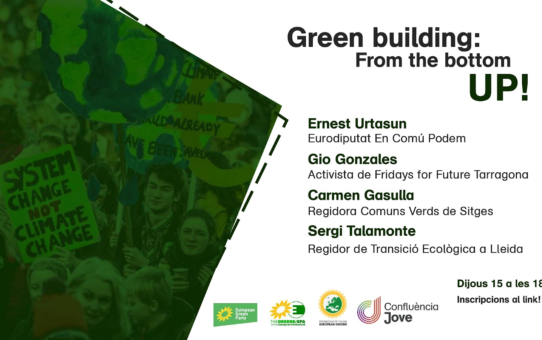 Green building: From the bottom UP!