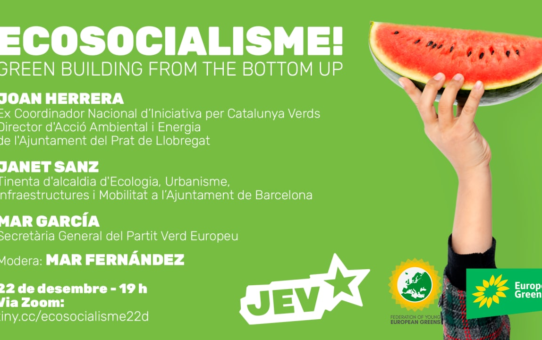 Conferència sobre Ecosocialisme: Green Building from the bottom UP!