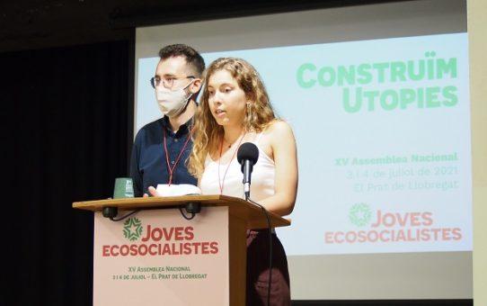 Joves Ecosocialistes celebra la seva XV Assemblea Nacional