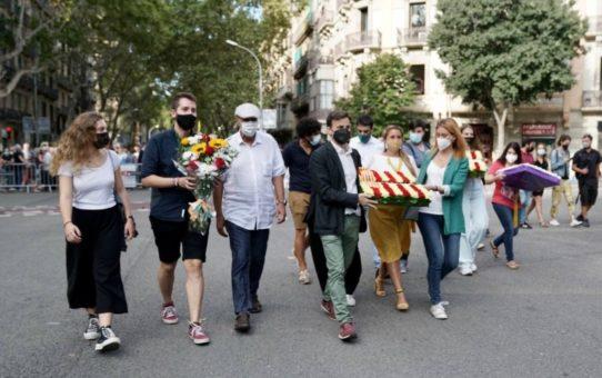 Joves Ecosocialistes participa a la Diada Nacional de Catalunya i a l'Homenatge a Allende